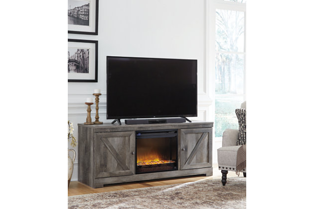 "Wynnlow 63"" TV Stand with Electric Fireplace, , large"