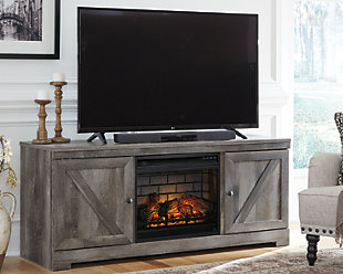 "Wynnlow 63"" TV Stand with Electric Fireplace, , rollover"
