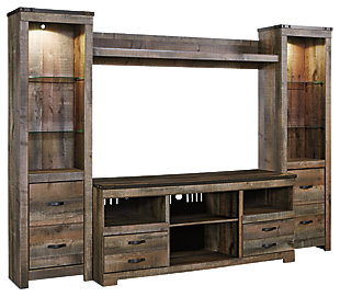 Trinell 4 Piece Entertainment Center