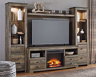 Trinell 4-Piece Entertainment Center with Fireplace, , rollover