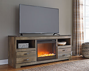 Trinell TV Stand with Fireplace, , rollover