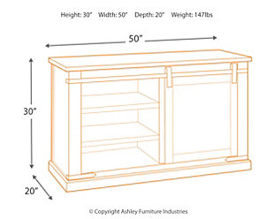 "Budmore 50"" TV Stand, , large"