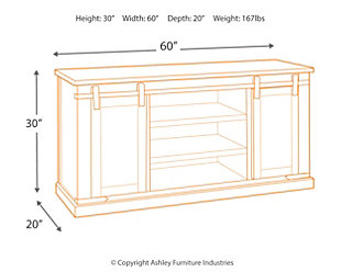 """Budmore 60"""" TV Stand, , large"""