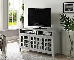 Largo Media Cabinet, Gray, rollover