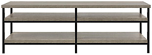 "Gray Oak Finish Ray Ridge TV Stand for TVs up to 60"", , large"