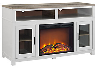 "Fireplace Kadin Electric TV Stand for TVs up to 60"" Wide, , large"