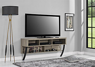 "Mounted Gavin Wall TV Stand for TVs up to 65"", , rollover"