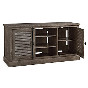 """Weathered Oak Suki TV Console for TVs up to 65"""", , large"""
