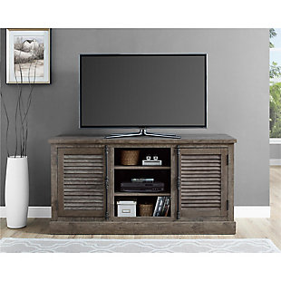 "Weathered Oak Suki TV Console for TVs up to 65"", , rollover"