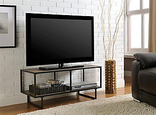 "Metal Frame Cole TV Stand/Coffee Table for TVs up to 42"", , rollover"