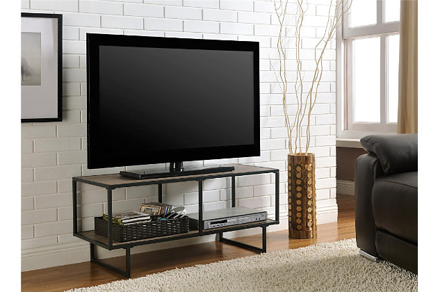 "Metal Frame Cole TV Stand/Coffee Table for TVs up to 42"", , large"