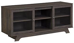 "Woodgrain Finish Forrest TV Stand for TVs up to 55"", , large"