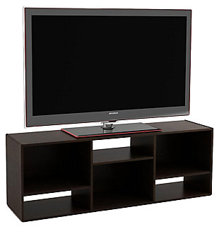 "Espresso Finish Waddell Bookcase/TV Stand for TVs up to 60"", , large"