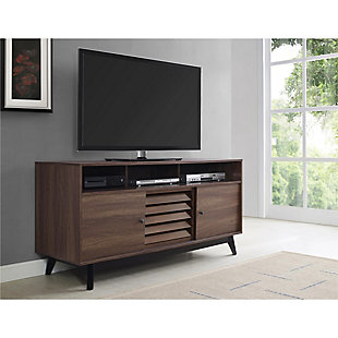 "Walnut Orchard Point TV Stand for TVs up to 60"", , rollover"