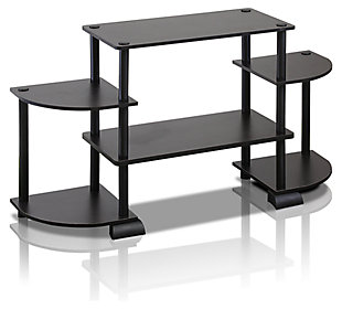 "Furinno Turn-N-Tube Roundedecorner Entertainment Center for up to 37"", , large"