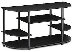 "Furinno 42"" Jaya Simple Design Corner TV Stand, , large"