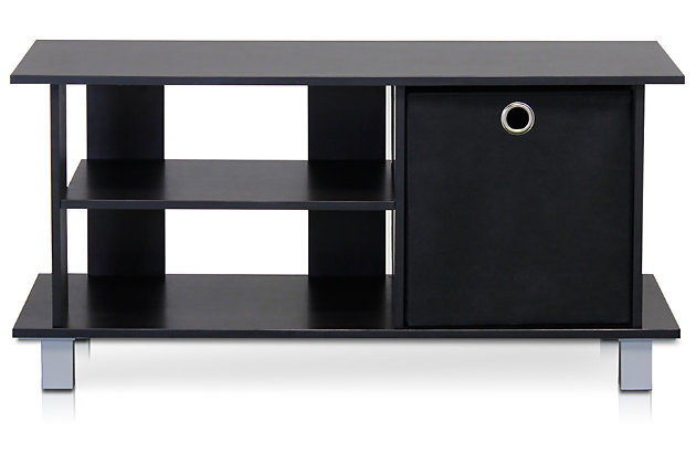 Furinno Simplistic TV Entertainment Center with Bin Drawers, , large