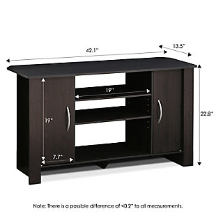 "Furinno 42.1"" Econ TV Stand Entertainment Center, , large"