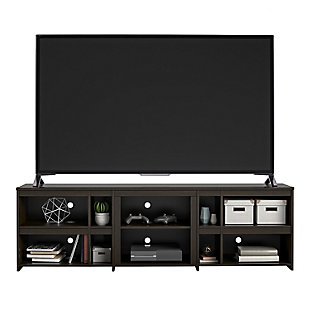 """Ameriwood Home Galen TV Stand for TVs up to 70"""", Brown, large"""