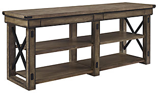 """Ameriwood Home Broadmore Wood Veneer TV Stand for TVs up to 65"""", , large"""