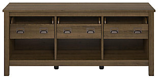 "Ameriwood Home Roseland TV Stand for TVs up to 64"", Brown, large"