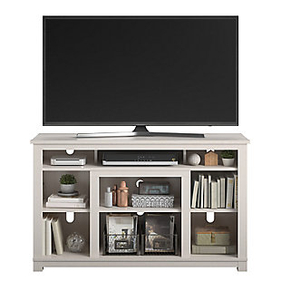 """Ameriwood Home Rossi TV Stand for TVs up to 55"""", White, large"""