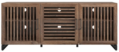 """Ameriwood Home Hannon TV Stand for TVs up to 65"""", Beige, large"""
