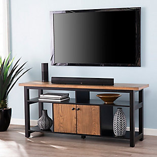 "Southern Enterprises 60"" Corba Media Console with Storage, , rollover"