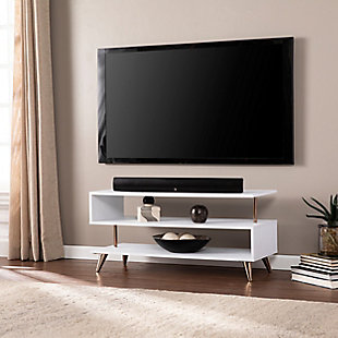 Southern Enterprises Ollan Low Profile TV Stand, , rollover