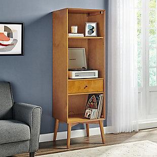 Crosley Landon Record Storage Bookcase, , rollover