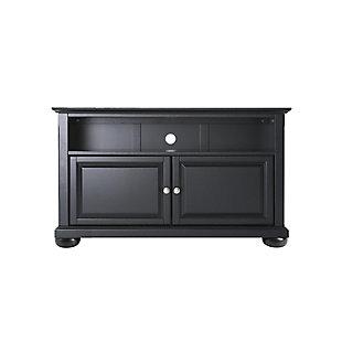"Crosley Alexandria 42"" TV Stand, Black, large"