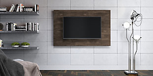 International Home Distressed TV Board, Brown, large