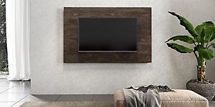 International Home Distressed TV Board, Brown, large