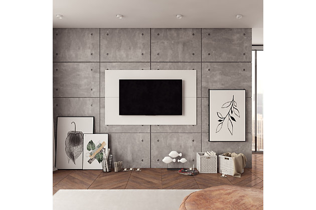 International Home TV Board, White, large