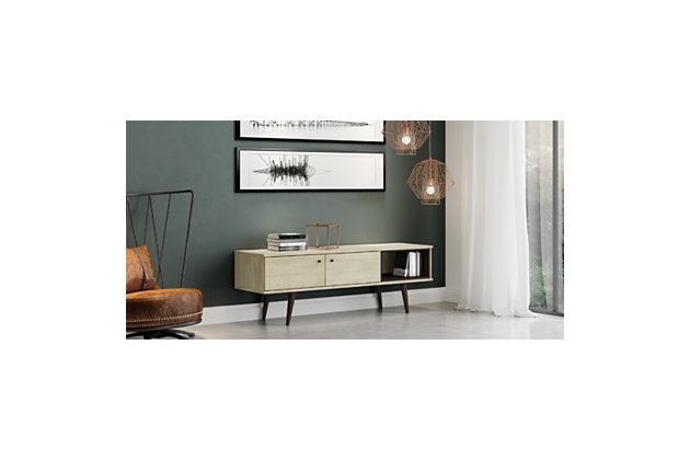 International Home 2-Cabinet TV Stand, Sand, large