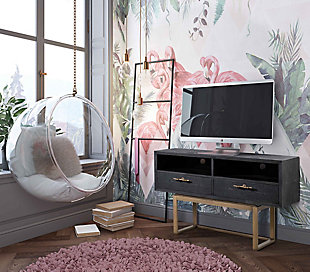 TOV Irma Shagreen TV Stand Irma Shagreen TV Stand, , rollover