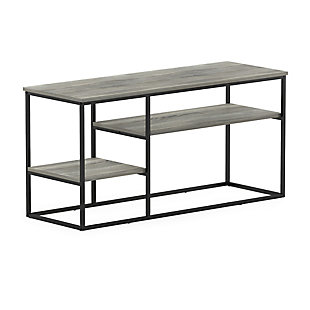 Furinno Moretti Modern Lifestyle TV Stand  Furinno Moretti Modern Lifestyle TV Stand for TV up to 50 Inch, French Oak Gray, Gray, large