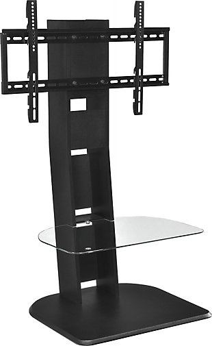 "Ajax TV Stand with Mount  Ajax TV Stand with Mount for TVs up to 50"", Black, , large"