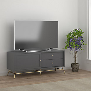 "Nora TV Console  Nora TV Console for TVs up to 65"", Graphite Gray, , rollover"
