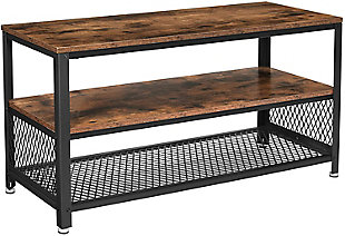 """Bryce 39.4"""" Rustic TV Stand, , large"""