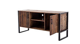 """Norton 60""""  Reclaimed Wood and Metal TV Stand, , large"""
