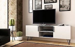 """Manhattan Comfort Nolita 63"""" TV Stand in White, , rollover"""