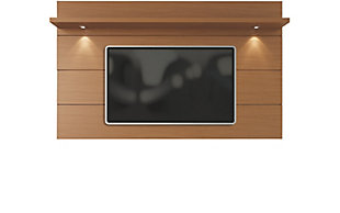 Manhattan Comfort Cabrini Floating Wall TV Panel 2.2 in Maple Cream, , large