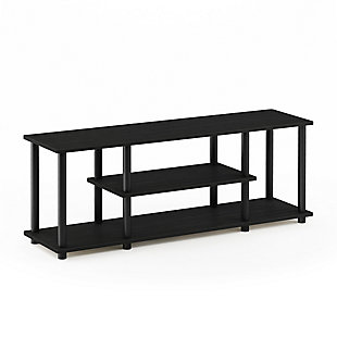 Turn-N-Tube No Tools 3-Tier TV Stands, , large