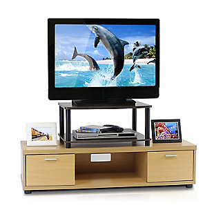 Turn-N-Tube No Tools 2-Tier Elevated TV Stand, , rollover