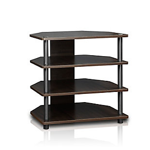 Turn-N-Tube Easy Assembly  4-Tier Petite TV Stand, , large
