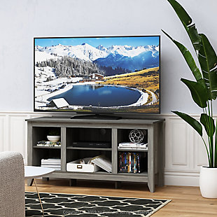 Jensen TV Stand with Shelves, , rollover