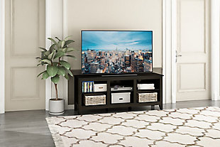 Jensen TV Stand with Shelves, , large