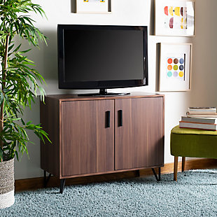 Safavieh Pine 2 Door Modular TV Unit, , rollover