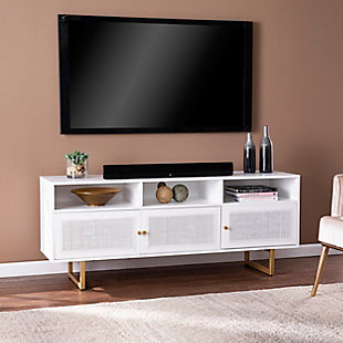 Southern Enterprises Aspen Media Console with Storage, , rollover